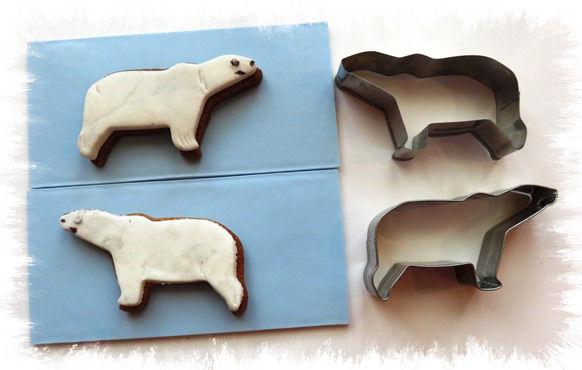 Bärenplätzchen Eisbären aus der Taraland Lehrküche