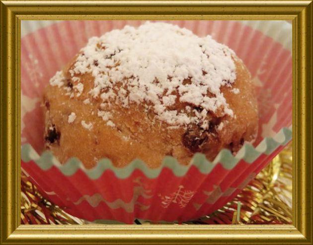 Christstollen Muffins aus der Taraland Lehrküche