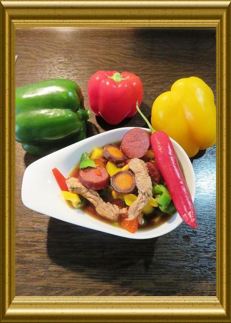 Fleischtopf Popocatepetl aus der Taraland Lehrküche