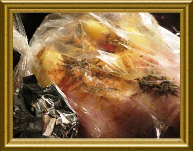 Gänsekeulen mit Backkartoffeln zu Rotkohl aus der Taraland Lehrküche