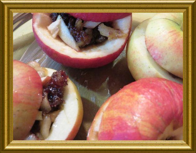 Gefüllte Bratäpfel zur Winterzeit aus der Taraland Lehrküche