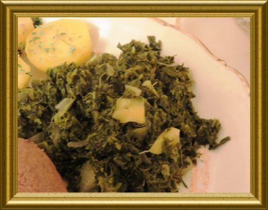 Grünkohl aus der Taraland Lehrküche
