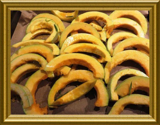 Kürbisspalten gebacken aus der Taraland Lehrküche