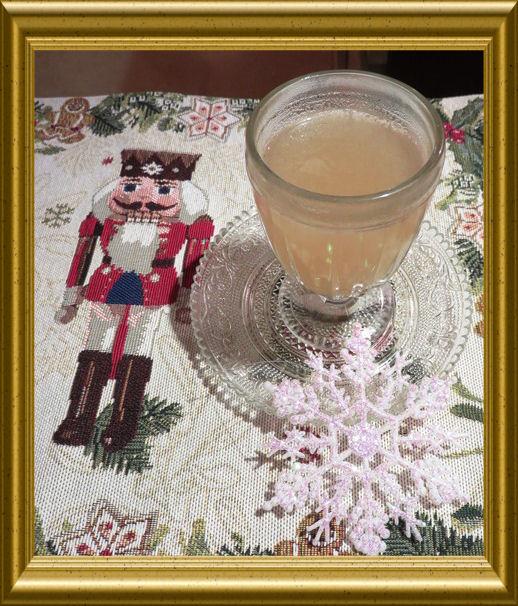 Weisser Glühwein mit Passionsfruch aus der Taraland Lehrküche