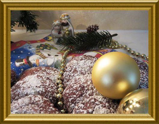Christmas Crinkle Chocolate Cookies aus der Taraland Lehrküche