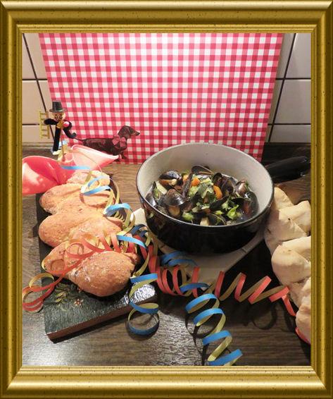 Muschelsuppe von der Halong Bucht aus der Taraland Lehrküche