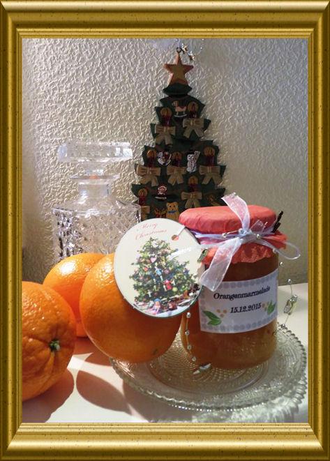Orangenmarmelade nach schottischer Art