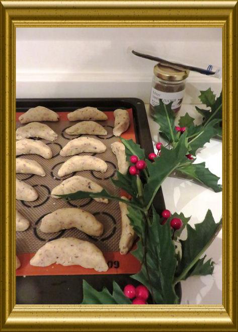 Vanillekipferln aus der Taraland Lehrküche