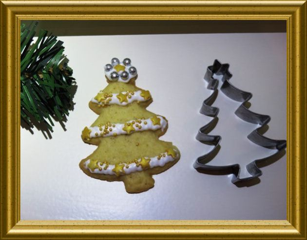 Weihnachtsbaum Plätzchen aus der Taraland Lehrküche