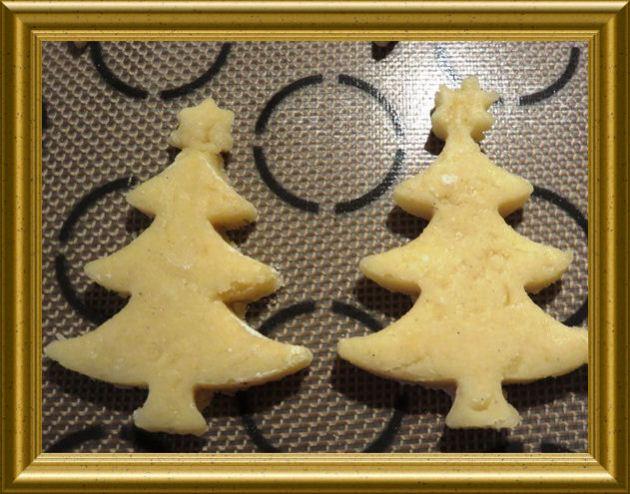 Weihnachtsbaum Plätzchen aus der Taraland Küche