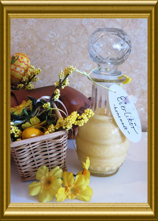 Eierlikör homemade aus der Taraland Lehrküche