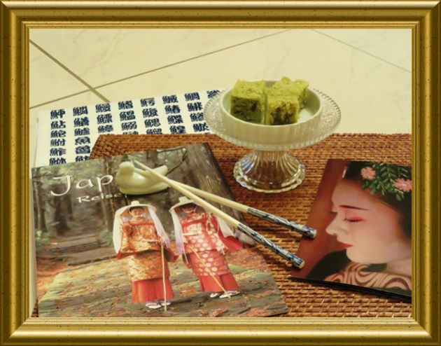 Japanischer Matcha Kuchen aus der Taraland Lehrküche