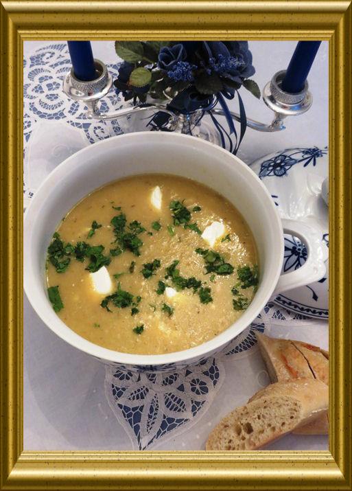 Kürbis-Apfel-Suppe aus der Taraland Lehrküche