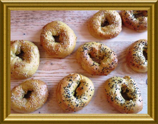 Kürbis Bagels aus der Taraland Lehrküche