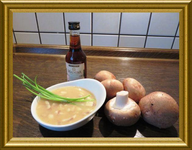 Madeira-Champignon-Sauce aus der Taraland Lehrküche
