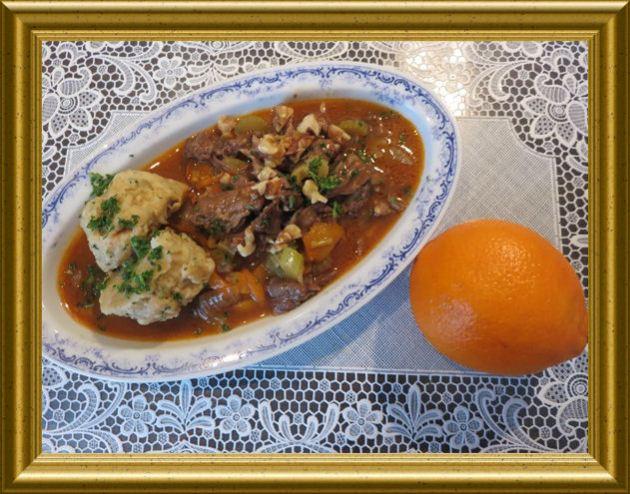 Ochsenschwanzragout mit Orange aus der Taraland Lehrküche