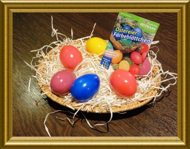 Ostereier färben in der Taraland Lehrküche