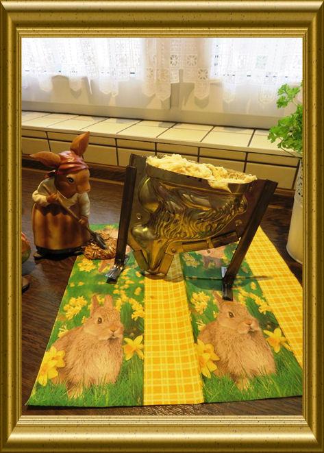Osterhase als Brioche aus der Taraland Lehrküche