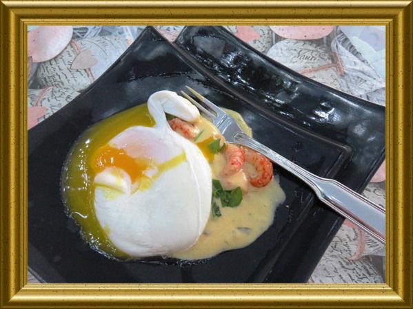 Oeuf florentine - Pochierte Eier aus der Taraland Lehrküche