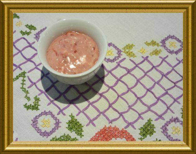 Preiselbeeren Mayonnaise aus der Taraland Lehrküche