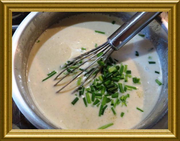 Sahne-Meereetich-Sauce aus der Taraland Lehrküche