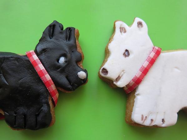 Scotch Terrier Kekse aus der Taraland Lehrküche