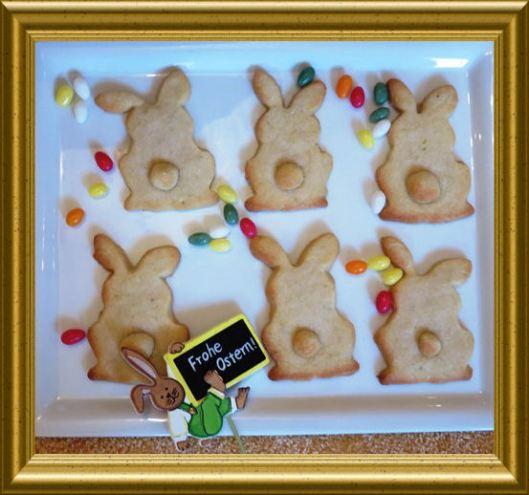 Osterhasenplätzchen aus der Taraland Lehrküche