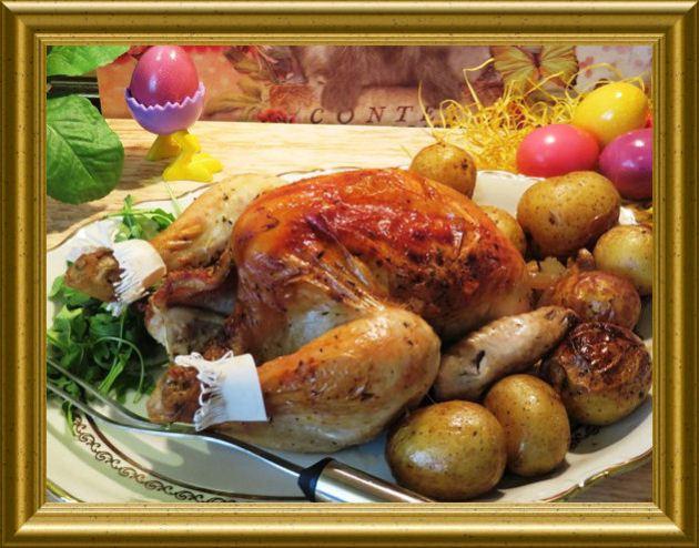 Türkisches Huhn aus der Taraland Lehrküche