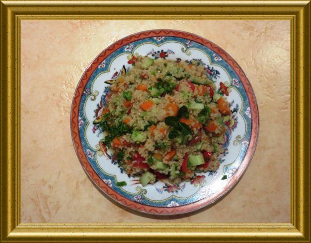 Bulgursalat mit Möhren aus der Taraland Lehrküche