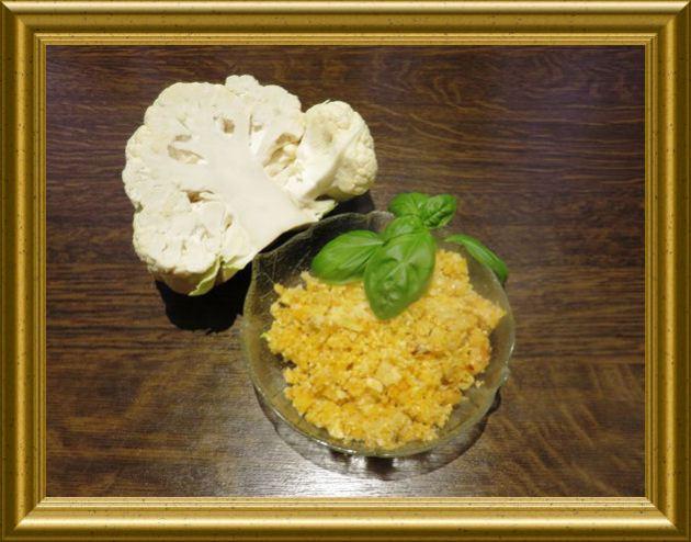CousCous aus Blumenkohl aus der Taraland Lehrküche