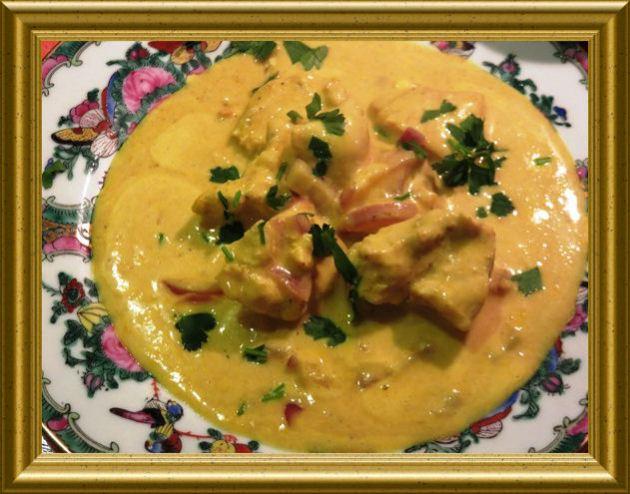 Indisches Curryhähnchen aus der Taraland Lehrküche
