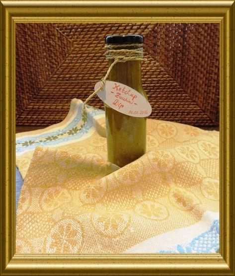 Ketchup/Zucchini Dip aus der Taraland Lehrküche