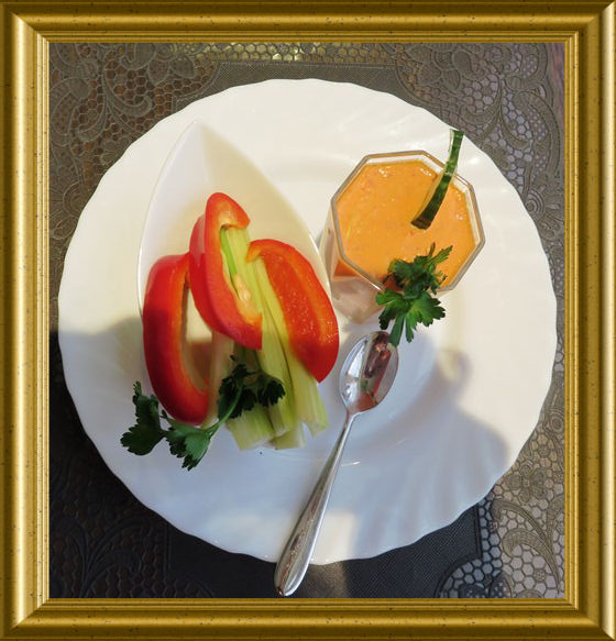 Mousse au Paprika aus der Taraland Lehrküche