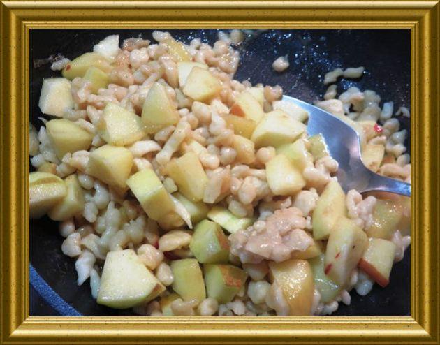 Süsse Spätzle/Knöpfli aus der Taraland Lehrküche