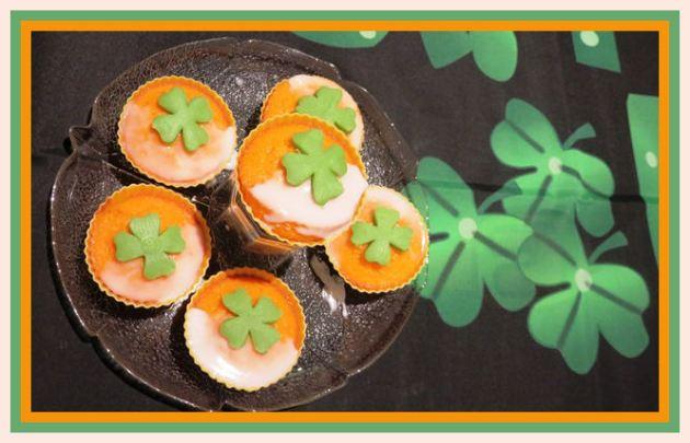 Shamrock Muffins zum St. Patrick Day aus der Taraland Lehrküche)