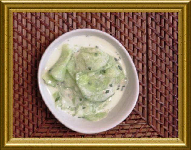 Griechischer Gurkensalat aus der Taraland Lehrküche