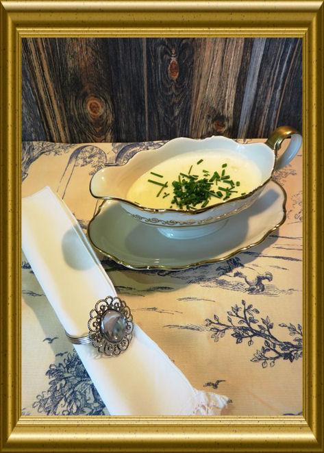 Merrettich -Sahne-Sauceaus der Taraland Lehrküche