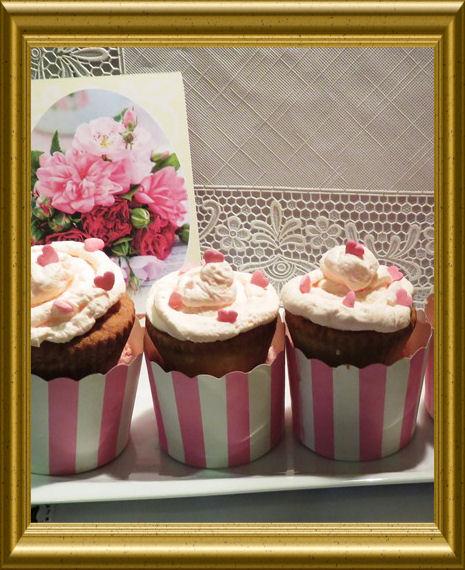Pink Love Cupcakes aus der Taraland Lehrküche
