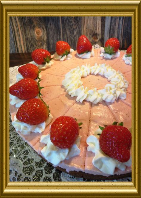 Erdbeer-Buchweizentorte aus der Tarland Lehrküche