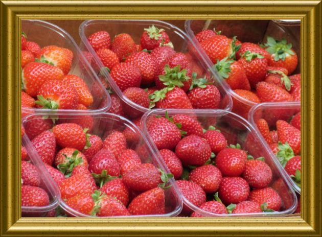 Erdbeeren aus der Taraland Lehrküche