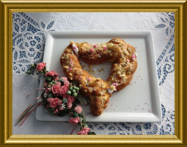 Frühstücksherzen aus der Taraland Lehrküche
