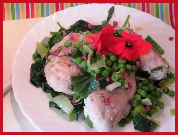 Hähnchen mit Kartoffelgratin aus der Taraland Lehrküche