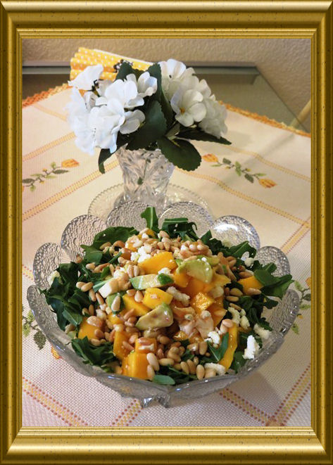 Mango-Avocado-Salat aus der Taraland Lehrküche
