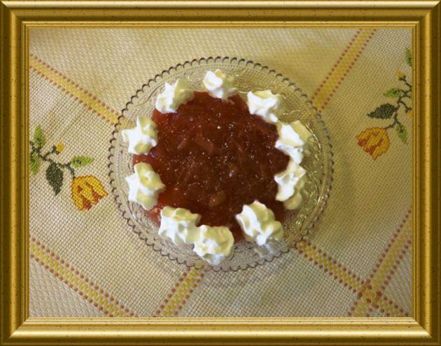 Rhabarber Geleespeise aus der Taraland Lehrküche