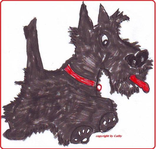 Scotch Terrier aus der Taraland Lehrküche