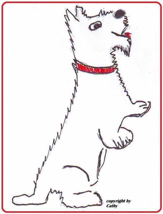 Scotish Terrier aus der Taraland Lehrküche