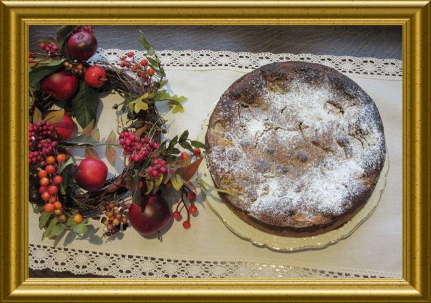 Birnenkuchen mit Nuss-Mohn-Decke aus der Taraland Lehrküche
