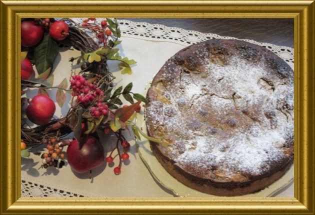 Birnenkuchen mit Nuss-Maohn-Decke aus der Taraland Lehrküche