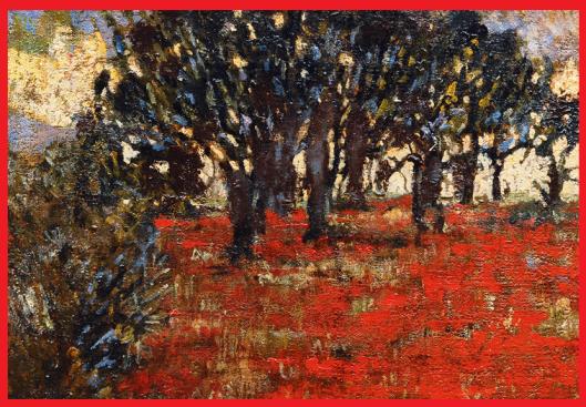 Das Mohnfeld von Heinrich Assmann 1914