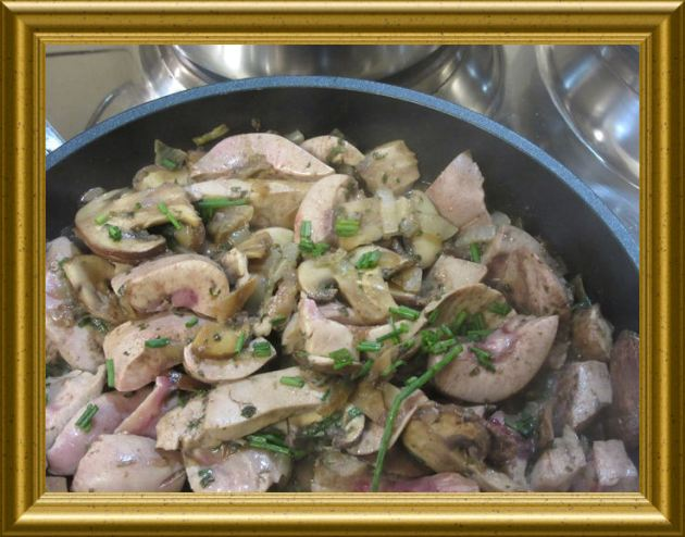 Nieren mit Champignons aus dem Wok aus der Taraland Lehrküche